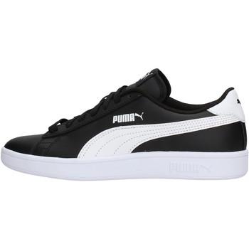 Chaussures Garçon Baskets basses Puma - Smash v2 l nero/bianco 365170-03 NERO