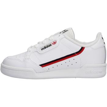Chaussures Garçon Baskets basses adidas Originals - Continental 80 c bianco G28215 BIANCO