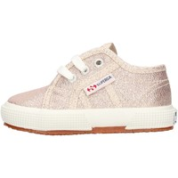 Chaussures Fille Baskets basses Superga - 2750 lameb oro S0028T0 2750 941 PLATINO