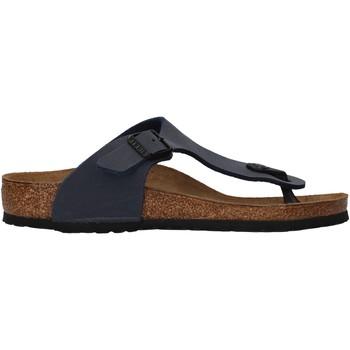 Chaussures Garçon Tongs Birkenstock - Gizeh blu 345443 BLU
