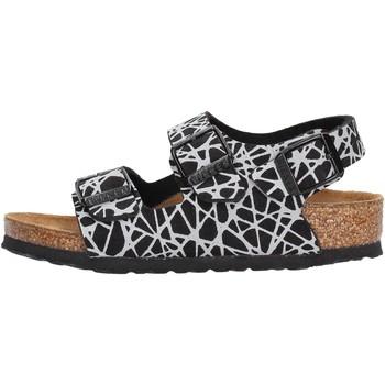 Chaussures Garçon Sandales et Nu-pieds Birkenstock - Milano nero 1012609 NERO