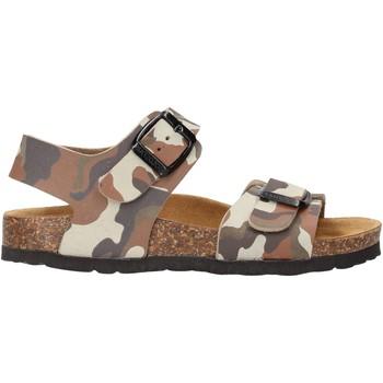 Chaussures Garçon Sandales et Nu-pieds Gold Star - Sandalo tortora 1805ST MARRONE