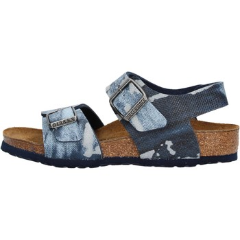 Chaussures Garçon Sandales et Nu-pieds Birkenstock - New york  blu 1004917 BLU
