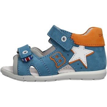 Chaussures Garçon Sandales sport Balducci - Sandalo celeste/arancione CITA2512 CELESTE