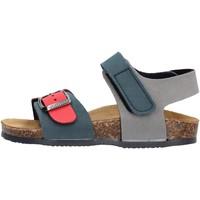 Chaussures Garçon Sandales et Nu-pieds Gold Star - Sandalo blu/rosso 8804 BLU