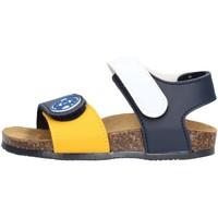 Chaussures Garçon Sandales et Nu-pieds Gold Star - Sandalo blu /giallo/bco 8852 MULTICOLORE