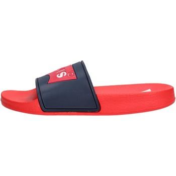 Chaussures Garçon Claquettes Levi's - Pool blu/rosso VPOL0020S BR BLU