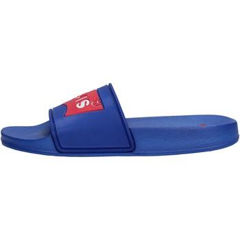 Chaussures Garçon Claquettes Levi's - Pool azzurro VPOL0020S BLU