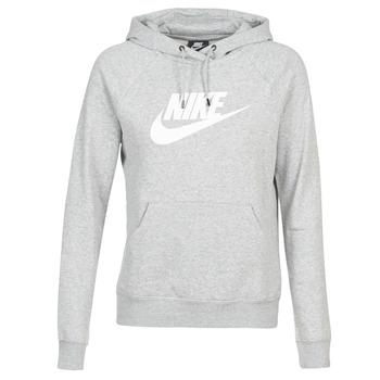 Vêtements Femme Sweats Nike W NSW ESSNTL HOODIE PO  HBR Gris