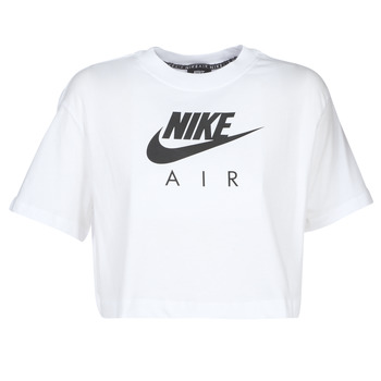 Vêtements Femme T-shirts manches courtes Nike W NSW AIR TOP SS Blanc