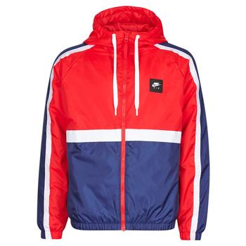 Vêtements Homme Vestes de survêtement Nike M NSW NIKE AIR JKT SSNL WVN Rouge / Marine