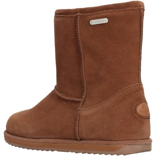 Chaussures Garçon Bottes de neige EMU - Stivale marrone camoscio K10773