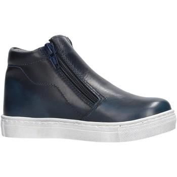 Chaussures Garçon Baskets montantes Melania - Bikers blu ME2632D8I.C BLU