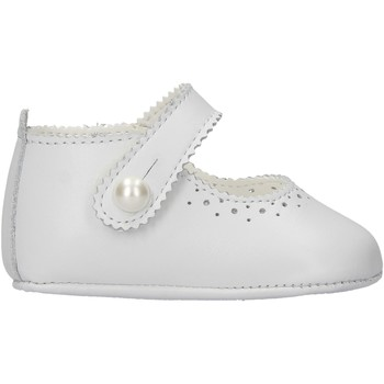 Chaussures Fille Chaussons bébés Baby Chick - Bambolina bianco pelle 673 BIANCO
