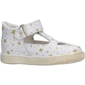Chaussures Fille Sandales et Nu-pieds Falcotto - Occhio di bue bianco/plt KOS BIANCO