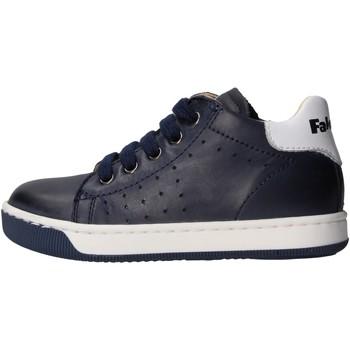 Chaussures Garçon Baskets basses Falcotto - Polacchino 9101 blu SMITH BLU