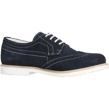 Chaussures Garçon Derbies Melania - Inglesina blu camoscio ME2003D8E.X BLU