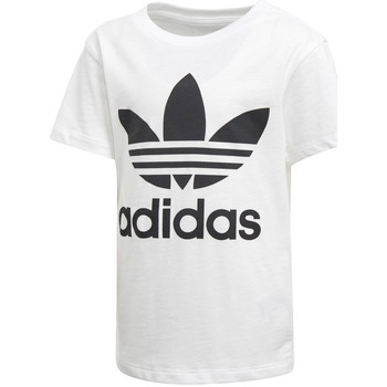 Vêtements Garçon T-shirts manches courtes adidas Originals - T-shirt da Bambino Bianco in Cotone D98852