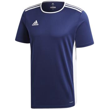 Vêtements Garçon T-shirts manches courtes adidas Originals - T-shirt blu CF1036 J BLU