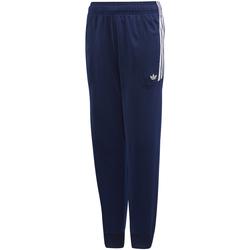 Vêtements Garçon Pantalons de survêtement adidas Originals - Pantalone blu/bco DW3864