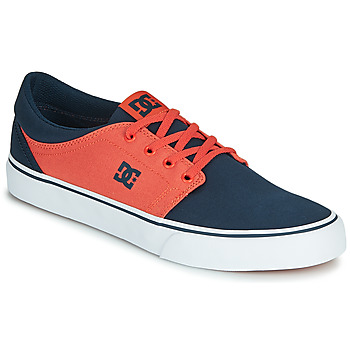 Chaussures Homme Baskets basses DC Shoes TRASE TX Bleu / Orange