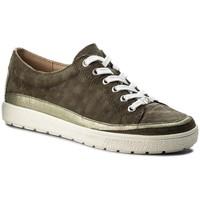 Chaussures Femme Baskets basses Caprice 23654 vert