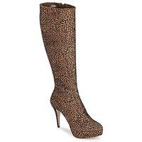 Chaussures Femme Bottes ville Sebastian FLOC-LEO Léopard