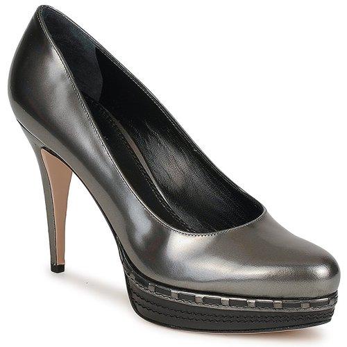Sebastian TREDACCIAIO Gris - Livraison Gratuite avec  - Chaussures Escarpins Femme