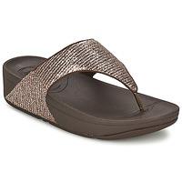 Chaussures Femme Sandales et Nu-pieds FitFlop LULU™ SUPERGLITZ Bronze