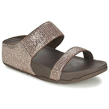 Chaussures Femme Mules FitFlop LULU™ SUPERGLITZ SLIDE Marron