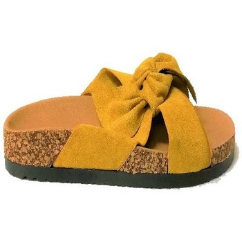 Chaussures Femme Mules Cendriyon Sandales Jaune Chaussures Femme Jaune