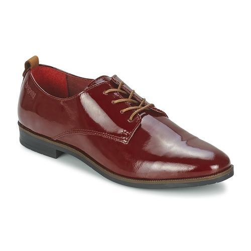 Bugatti VICTORIA Bordeaux - Chaussures Derbies Femme