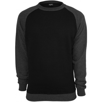 Vêtements Homme Sweats Urban Classics Sweat crewneck  Noir - Charbon Raglan Charbon
