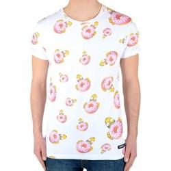 Vêtements Garçon T-shirts manches courtes Eleven Paris Homerall SS Mixte (Garçon / Fille) Blanc