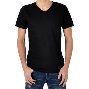 Vêtements Homme T-shirts & Polos Eleven Paris T-Shirt Ligne 1 L1VSS Noir