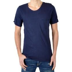 Vêtements Homme T-shirts & Polos Eleven Paris T-Shirt Ligne 1 L1RP Navy Bleu