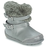 Chaussures Fille Bottes ville Chicco GELDA Gris