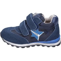 Chaussures Garçon Baskets basses Enrico Coveri sneakers textile bleu