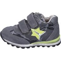 Chaussures Garçon Baskets basses Enrico Coveri sneakers daim gris
