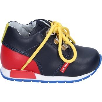 Chaussures Garçon Baskets basses Balducci sneakers cuir bleu