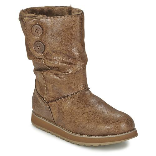 Chaussures Femme Boots Skechers KEEPSAKES LEATHER-ESQUE Noisette