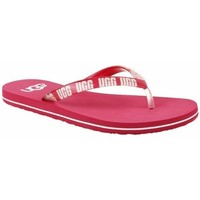 Chaussures Femme Tongs UGG Simi Graphic rose
