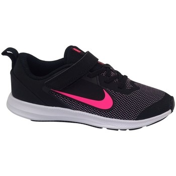 Chaussures Fille Baskets basses Nike Downshifter 9 Psv Noir