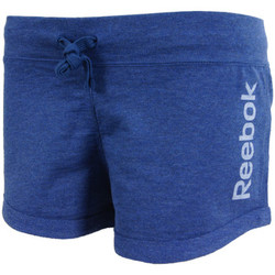 Vêtements Femme Shorts / Bermudas Reebok Sport EL Logo FT Short Bleu
