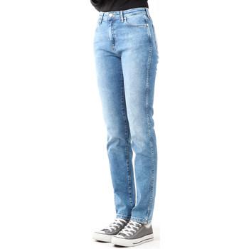 Vêtements Femme Jeans skinny Wrangler Boyfriend Best Blue W27M9194O niebieski
