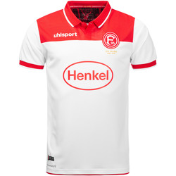 Vêtements Homme Polos manches courtes Uhlsport Fortuna Düsseldorf Home Jersey 2019/2020 Rot