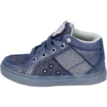 Chaussures Fille Baskets montantes Lelli Kelly sneakers textile bleu