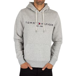 Vêtements Homme Sweats Tommy Hilfiger Sweat à  capuche à  logo gris