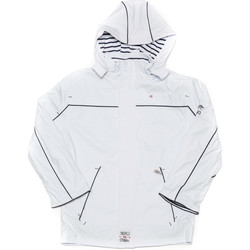 Vêtements Garçon Coupes vent Geographical Norway Manteau Garà§on Cirà© Capvert Blanc