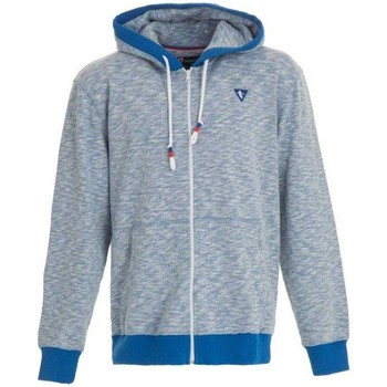 Vêtements Homme Sweats Camberabero Sweat rugby zippé - Camberaber Bleu
